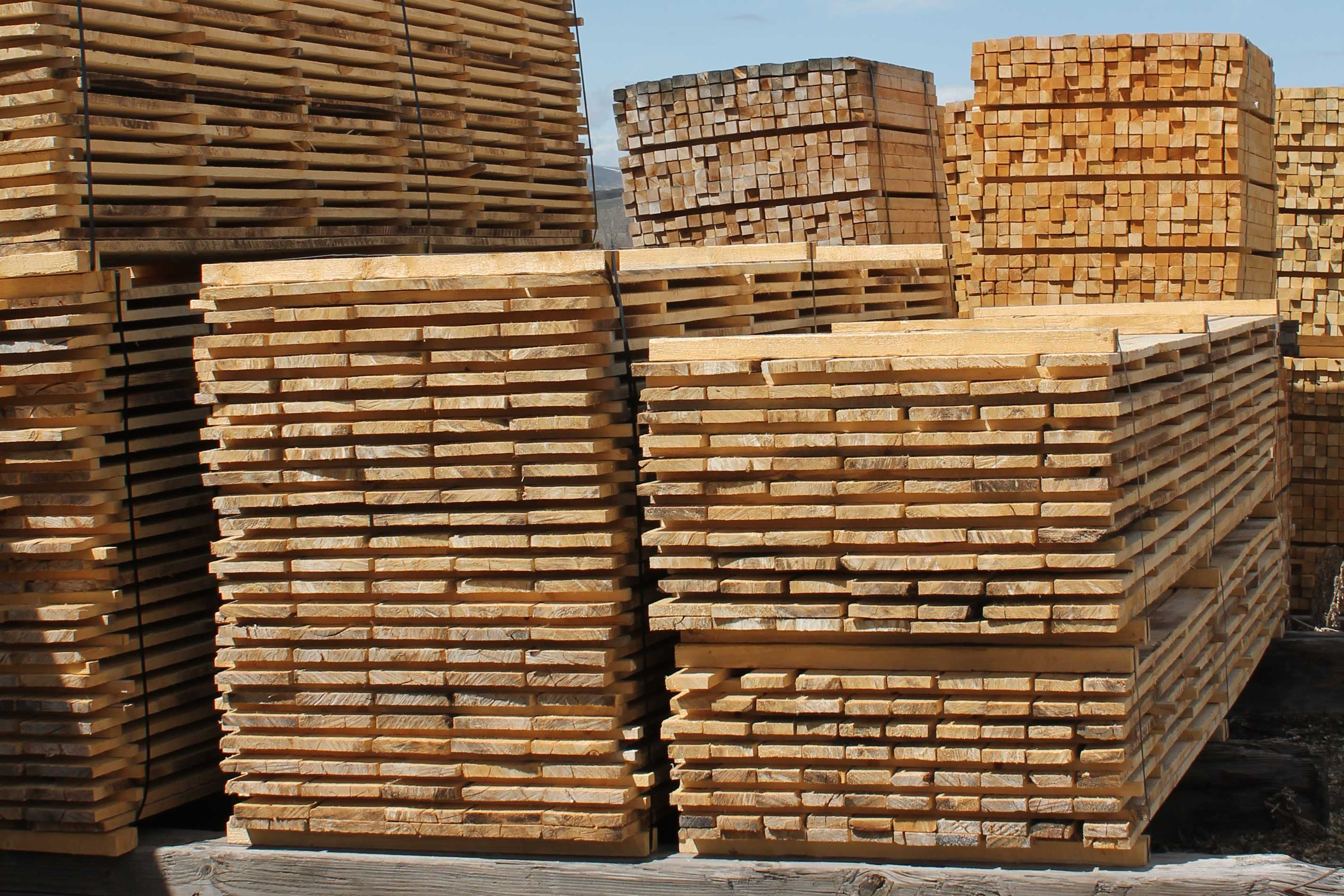 Rough Cut Lumber ~ Lumber products