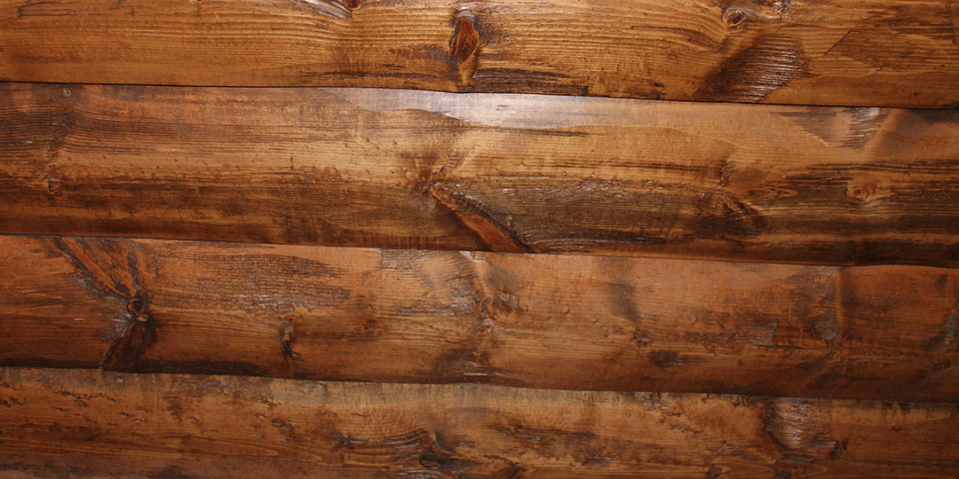 Siding slabs house logs for Log slab siding