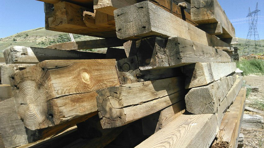 Re-claimed timbers available