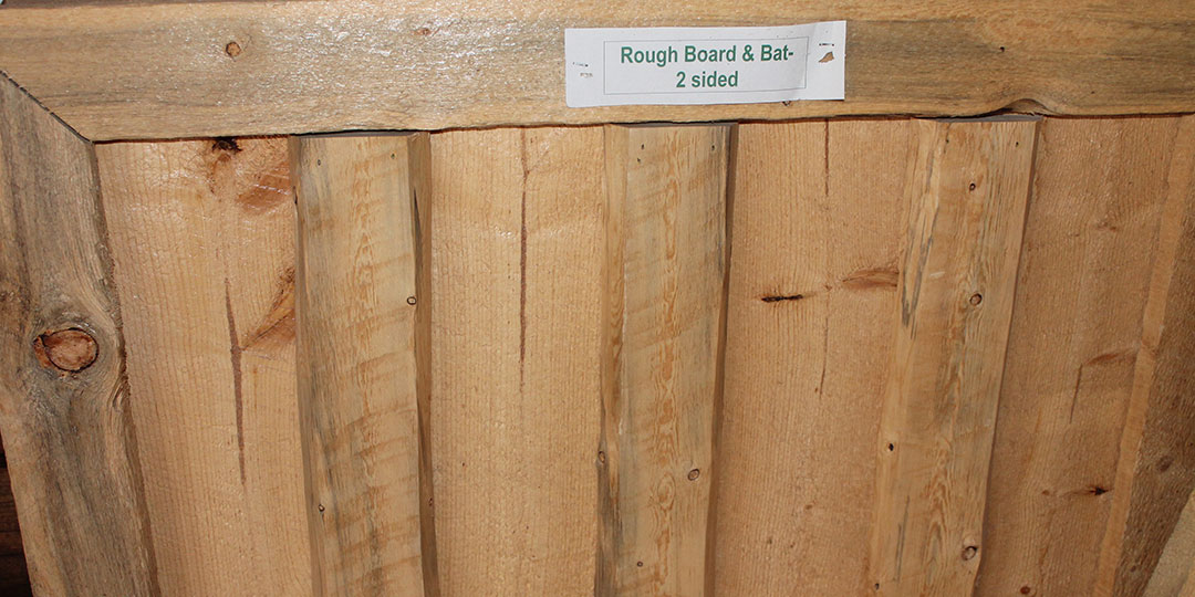 Board Bat Wavy Edge Peeled
